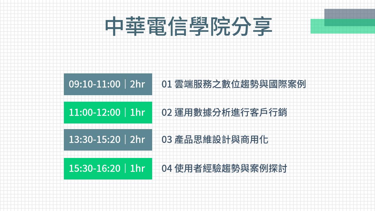NexTrek x 中華電信學院 講座隨記
